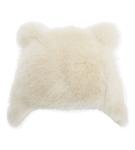 BARTS BV Bear faux-fur hat (White