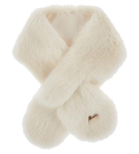 BARTS BV Faux-fur scarf (White