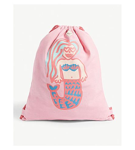 BARTS BV Liku printed drawstring bag (Pink