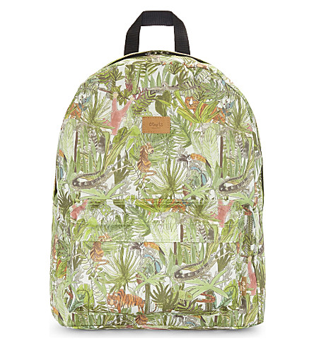 BARTS BV Jungle print backpack (Green