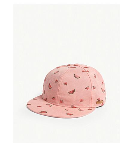 BARTS BV Pauk flamingo cotton strapback cap (Pink