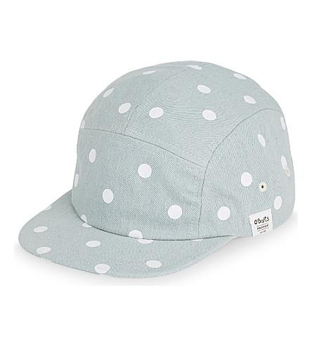 BARTS BV Sitar polka dot cotton cap (Light+blue