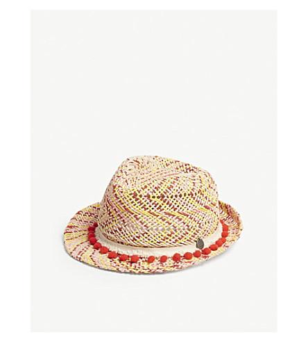 BARTS BV Bobble-trim festival hat (Red