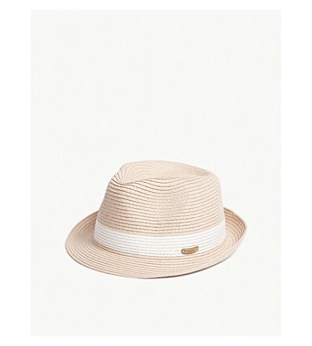 BARTS BV Scene straw hat (Dusty+pink