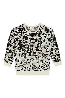 LITTLE REMIX Animal print pullover 6-16 years