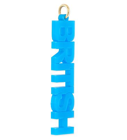 ANNA LOU British vertical charm (Acryllic