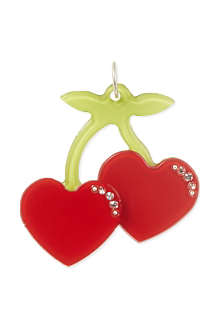 ANNA LOU Cherry hearts charm