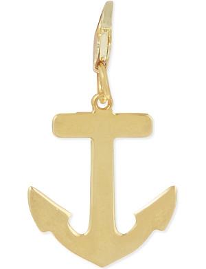 ANNA LOU Gold plated anchor charm