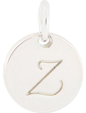 ANNA LOU Small alphabet charm 'Z'