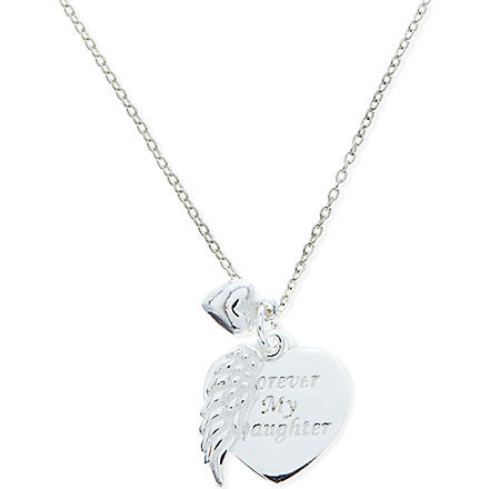 JACQUES + SIENNA Sterling silver daughter necklace (Silver