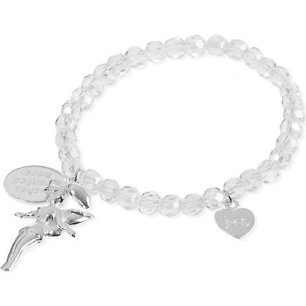 JACQUES + SIENNA Crystal charm bracelet (Clear