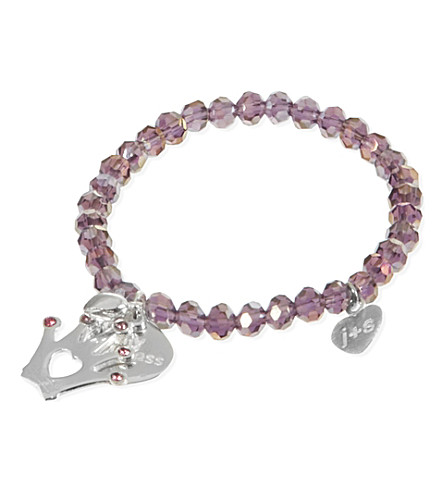 JACQUES + SIENNA Crystal charm bracelet (Liac