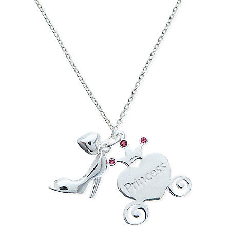 JACQUES + SIENNA Sterling silver princess necklace (Silver