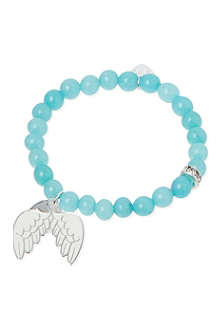JACQUES + SIENNA Angel wings charm bracelet