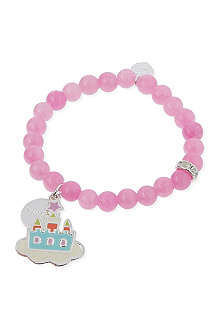 JACQUES + SIENNA Castle charm bracelet