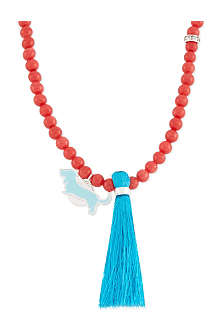 JACQUES + SIENNA Friends enamel bead necklace