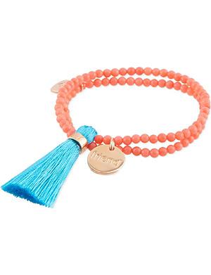 JACQUES + SIENNA Tassel bracelet