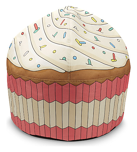 WOOUF Cupcake canvas bean bag