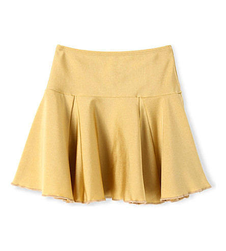 AGNES VALENTINE Swim skirt 4-14 years (Gold