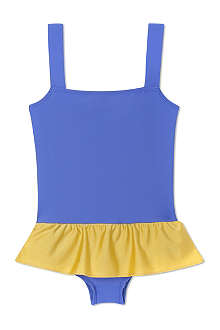 AGNES VALENTINE Skirt detail swimsuit 4-14 years
