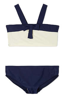 AGNES VALENTINE Rosy bow front bikini 4-14 years