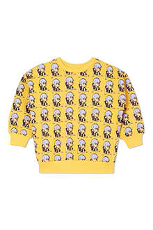 GARDNER AND THE GANG All-over print sweater 9 months - 4 years