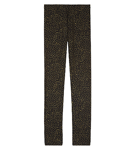 SOFT GALLERY Paula metallic dot leggings 4-16 years (Aop+mini+dots