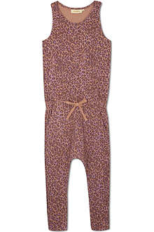 SOFT GALLERY Summer leopard jumpsuit 2-14 years