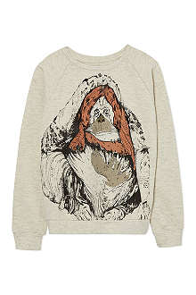 SOFT GALLERY Orangutan-print sweatshirt 2-14 years