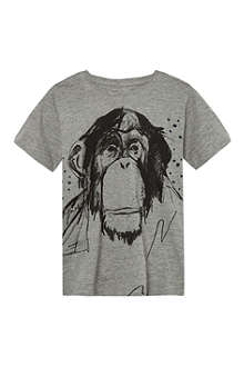 SOFT GALLERY Ape-print t-shirt 2-14 years