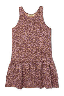 SOFT GALLERY Summer leopard dress 2-14 years