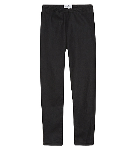 LITTLE REMIX Galon zip ankle jeans 6-14 years (Black