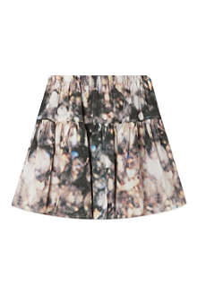 LITTLE REMIX Pixellated silk skirt 4-16 years