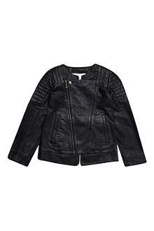 LITTLE REMIX Leather jacket 6-16 years