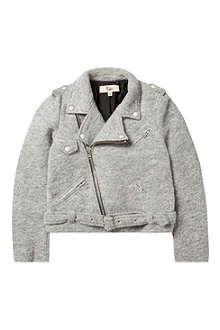 RIKA Boiled wool Irena biker jacket XS-L