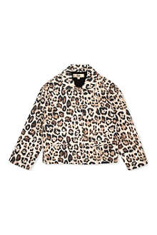 RIKA Leopard-print jacket 4-11 years