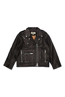 RIKA Leather jacket 6-11 years
