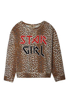 RIKA Sandrine panther print sweater XS-L