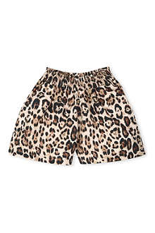 RIKA Leopard-print shorts 4-11 years