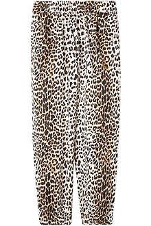 RIKA Tilda panther print trousers XS-L