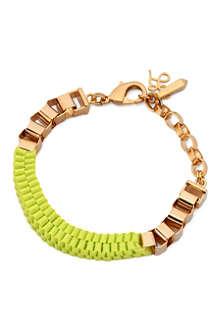 JOHN & PEARL Lupe chunky weave bracelet