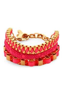 JOHN & PEARL Akumal triple layer bracelet