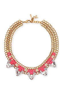 JOHN & PEARL Cenote chunky spike necklace