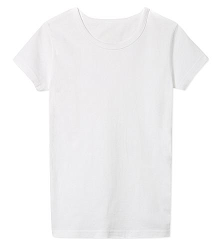 CLAESENS Short sleeve crew neck t-shirt 2-15 years (White