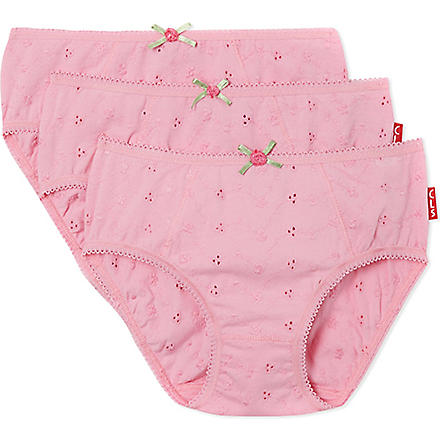 CLAESENS Brief triple pack 2-15 years (Pink