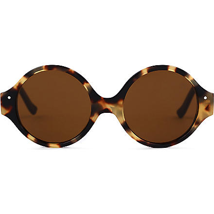 VERY FRENCH GANGSTERS Very Bombe Solaire tortoiseshell sunglasses 3-6 years