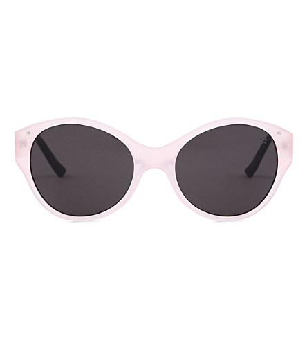 VERY FRENCH GANGSTERS Very Bombe Solaire pink blush sunglasses 3-6 years