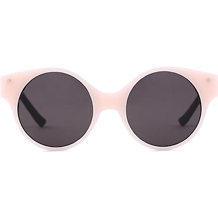 VERY FRENCH GANGSTERS Very swag solaire pink opaque sunglasses 6-10 years