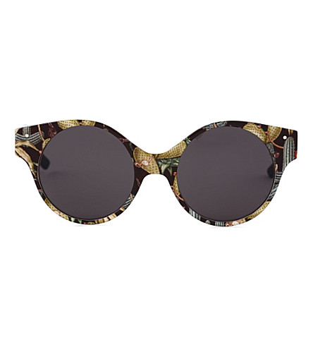 VERY FRENCH GANGSTERS Very Swag Solaire cactus-print sunglasses 3-6 years