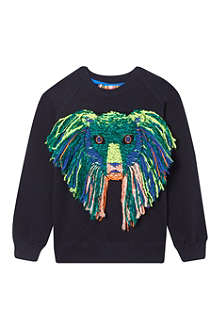 ANNE KURRIS Wool lion sweatshirt 2-12 years